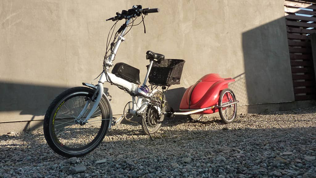 BIKE TRAILERS TAIFUN COMPACT