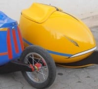 Egg & Roll bike and velomobile trailer
