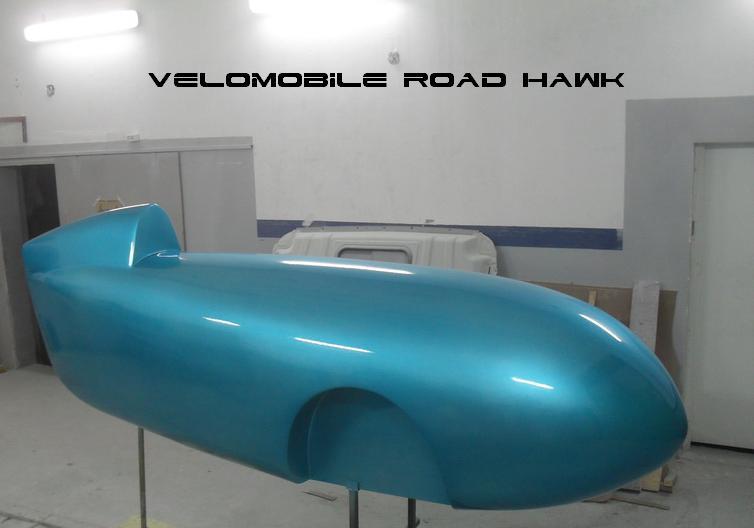 Velomobile Road Hawk model of body