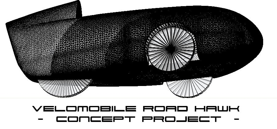 Velomobile Road hawk - Concept Project 3