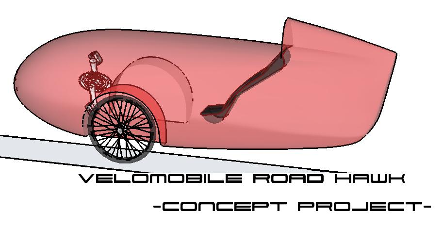 Velomobile Road hawk - Concept Project 4