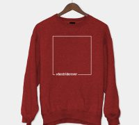 Sweatshirt Best Rider Ever Red
