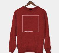 Sweatshirt Best Rider Ever Red