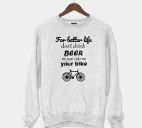 Sweatshirt For Better Life White